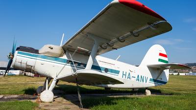HA-ANV - PZL-Mielec An-2 - Private