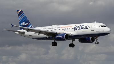 N623JB - Airbus A320-232 - jetBlue Airways