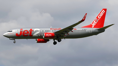 A picture of GGDFY - Boeing 73786Q - Jet2 - © Nigel Fenwick