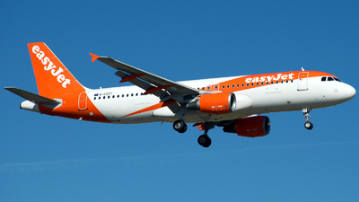 A picture of GEZTT - Airbus A320214 - easyJet - © a.m.