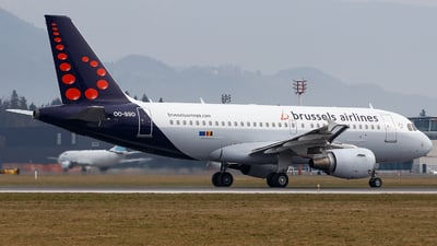 OO-SSO - Airbus A319-111 - Brussels Airlines