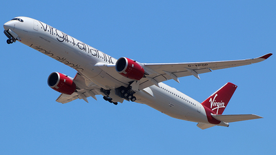 F-WZNU - Airbus A350-1041 - Virgin Atlantic Airways