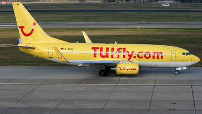 D-AHXC - Boeing 737-7K5 - TUIfly