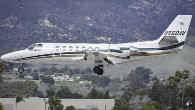 N560AV - Cessna 560 Citation Ultra - Private