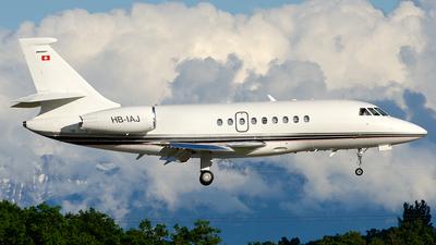 HB-IAJ - Dassault Falcon 2000EX - TAG Aviation
