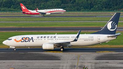B-5648 - Boeing 737-85N - Shandong Airlines