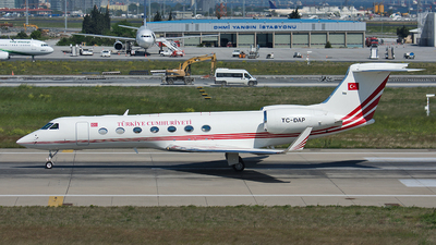 TC-DAP - Gulfstream G550 - Turkey - Government