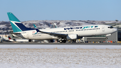 A picture of CGWSR - Boeing 7378CT - WestJet - © GN