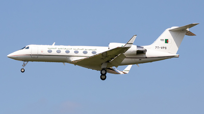 7T-VPS - Gulfstream G-IV - Algeria - Government