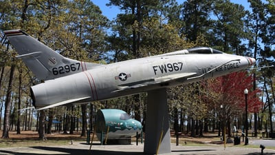 56-2967 - North American F-100D Super Sabre - United States - US Air Force (USAF)