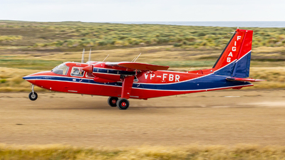 VP-FBR - Britten-Norman BN-2 Islander - Falkland Islands Government Air Services (FIGAS)
