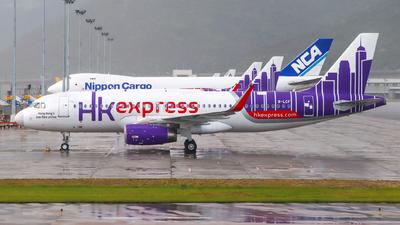 B-LCF - Airbus A320-232 - Hong Kong Express