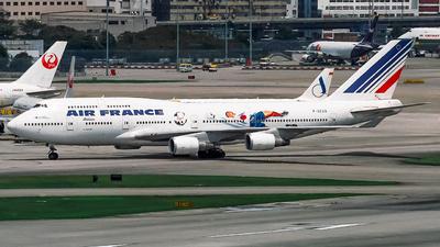 F-GEXA - Boeing 747-4B3 - Air France