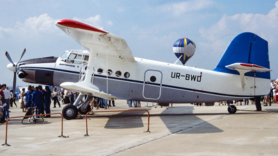 UR-BWD - Antonov An-3SKh - Antonov Design Bureau
