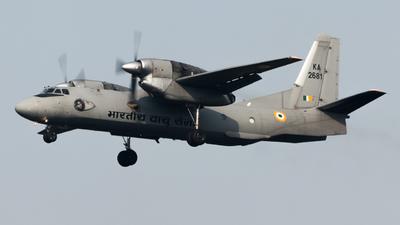 K2681 - Antonov An-32 - India - Air Force