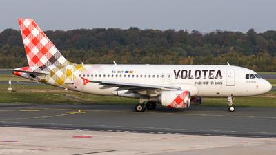 A picture of ECMUY - Airbus A319111 - Volotea - © Moritz Klöckner