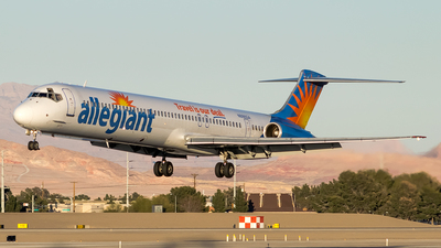 N886GA - McDonnell Douglas MD-83 - Allegiant Air
