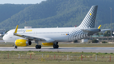 A picture of ECMJB - Airbus A320232 - Vueling - © Saúl Alonso