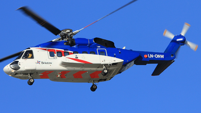A picture of LNONW - Sikorsky S92A - Bristow Helicopters - © Witold Ozimek