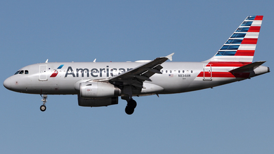 N834AW - Airbus A319-132 - American Airlines