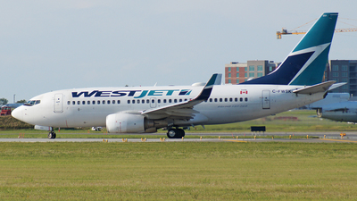 C-FWSK - Boeing 737-7CT - WestJet Airlines