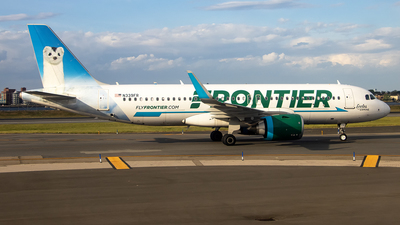 A picture of N339FR - Airbus A320251N - Frontier Airlines - © xuxinyi1000