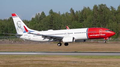 LN-ENQ - Boeing 737-8JP - Norwegian