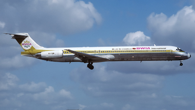 9Y-THR - McDonnell Douglas MD-83 - BWIA West Indies Airways
