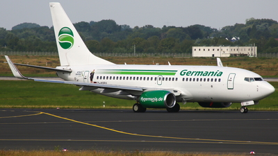 D-AGEU - Boeing 737-75B - Germania