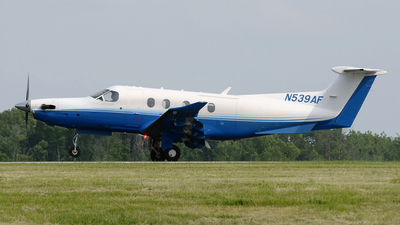 A picture of N539AF - Pilatus PC12/47E - PlaneSense - © DJ Reed - OPShots Photo Team