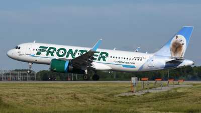 A picture of N366FR - Airbus A320251N - Frontier Airlines - © DJ Reed - OPShots Photo Team