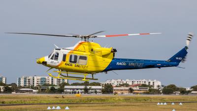 VH-XCI - Bell 412EP - LifeFlight Australia