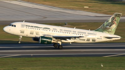 N902FR - Airbus A319-111 - Frontier Airlines