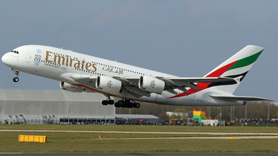 A6-EDV - Airbus A380-861 - Emirates