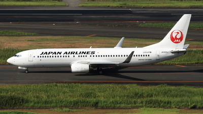 JA322J - Boeing 737-846 - Japan Airlines (JAL)