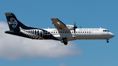 ZK-MVW - ATR 72-212A(600) - Air New Zealand