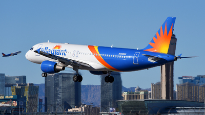 A picture of N259NV - Airbus A320214 - Allegiant Air - © Rocky Wang