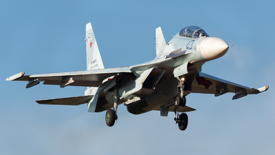 RF-95072 - Sukhoi Su-30M2 - Russia - Air Force