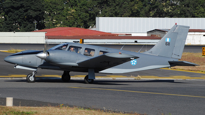 611 - Piper PA-34-200T Seneca II - Guatemala - Air Force
