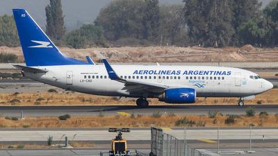 LV-CAD - Boeing 737-76N - Aerolíneas Argentinas