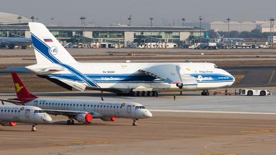 A picture of RA82081 - Antonov An124 - VolgaDnepr Airlines - © Sebastian Shen