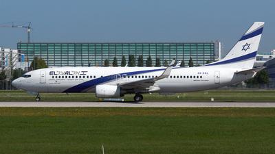 4X-EKL - Boeing 737-85P - El Al Israel Airlines