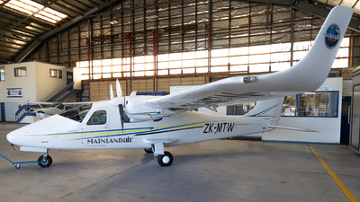 ZK-MTW - Tecnam P2006T - Mainland Air
