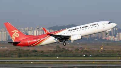 B-1755 - Boeing 737-87L - Shenzhen Airlines