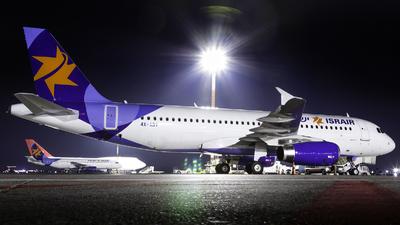 4X-ABT - Airbus A320-232 - Israir