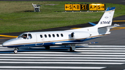 N744AT - Cessna 550 Citation II - Private