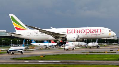 A picture of ETAOR - Boeing 7878 Dreamliner - Ethiopian Airlines - © Jackson Zheng