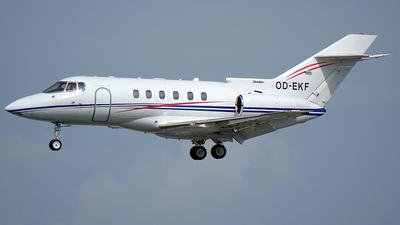 OD-EKF - British Aerospace BAe 125-800A - Private