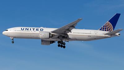 A picture of N37018 - Boeing 777224(ER) - United Airlines - © Elise Van de Putte
