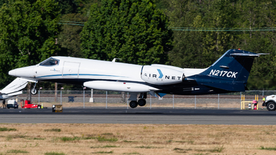 A picture of N217CK - Learjet 35A - Airnet - © Nick Sheeder